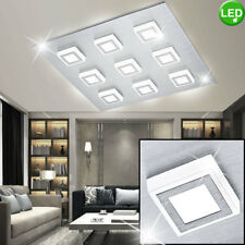 LED Decken Leuchte Arbeits Zimmer Spot Beleuchtung ALU Strahler Lampe gebürstet