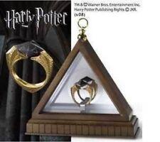 Hot Harry potter deathly Horcruxes Resurrection Stone Retro Bronze Crystal Ring
