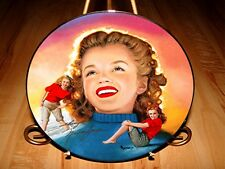 Remembering Norma Jeane Marilyn Monroe Young And Carefree Movie Star Plate