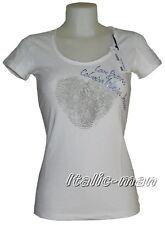 T-shirt donna CALVIN KLEIN - mod. CWP16L - tg. L - bianco