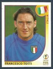 PANINI KOREA/JAPAN WORLD CUP 2002- #470-ITALIA-ITALY-FRANCESCO TOTTI