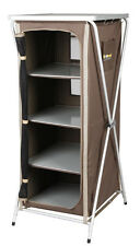 OZTRAIL 4 SHELF HARD TOP DELUXE INSTANT STORAGE CAMPING CUPBOARD