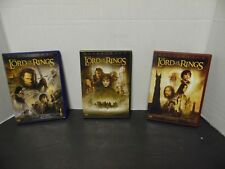 """THE LORD OF THE RINGS DVD MOVIE """"BUNDLE"""""""