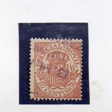España Valor Fiscal postal del año 1908 (CH-417)