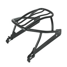 Black Luggage Rack for Harley Dyna Wide Glide Super Glide FXDB FXDC 2006 -Later