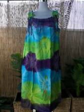 Plus Size Purple Mix Tie Dye Maxi Dress Adjustable  Shoulders Size 16-18-20-22
