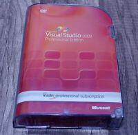 Microsoft Visual Studio 2008 Professional Pro full version pre-owned UEH-00006