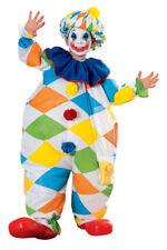 Inflatable Clown Child Costume Medium