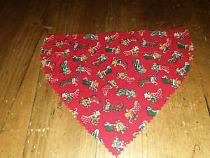 Handmade Christmas Stocking  Dog/Cat Bandana/Neckerchief