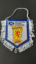 VINTAGE SCOTTISH FOOTBALL ASSOCIATION  SOCCER PENNANT FLAG VANE  SCOTLAND