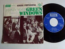 "GREEN WINDOWS : Twenty years (Vinte anos) 7"" 45T 1973 Portugal  DECCA SPN 151 D"