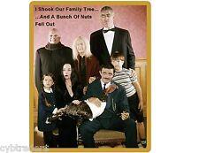 Funny Addams Family Tree / Tool Box /  Refrigerator Magnet Gift Card Insert