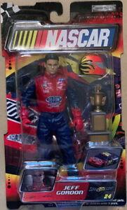 Jeff Gordon #24 Road Champs 2003 Action Figure Jakks Pacific NASCAR HOF New!