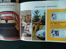 Brochure  Fiat 500 giardiniera