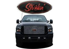 """9"""" Red """"Strokin"""" Front Grill Emblem For 2004-2015 Ford F150 New Free Shipping"""