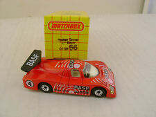 "1983 MATCHBOX SUPERFAST MB66 RED SAUBER GROUP ""C"" RACER GRAND-PRIX  BASF NEW IN"