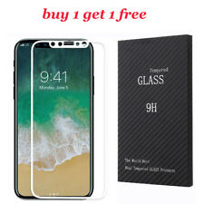 Anti-Scratch 5D 9H Curved White Full Coverage Tempered Glass For Apple iPhone X