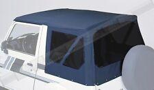 Verdeck schwarz Suzuki Samurai SJ 410 413  Verdeckhaut mit getönten Scheiben NEU
