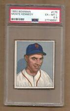 1950  BOWMAN  MONTE  KENNEDY  #  175   PSA  6.5
