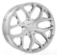 "Chevy Silverado 20"" Snowflake Chrome Wheels Rims Tahoe Suburban LTZ CK156"