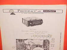 1978 GM BUICK CHEVROLET CORVETTE OLDS PONTIAC 8-TRACK/AM-FM RADIO SERVICE MANUAL