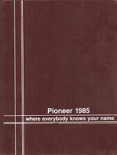Hereford High School Yearbook 1985 Parkton, MD  (Pioneer)