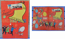 Journal Tintin n°649, 05 mars 1961, Une de Hergé, Tintin, poster couverture