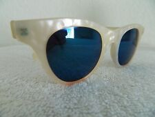 VINTAGE 70's CHRISTIAN ROTH SUNGLASSES 6600 plastic cat eye sexy mother pear