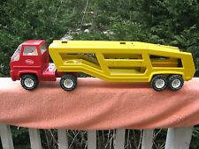 "Vintage 1970's Tonka Car Carrier~Pressed Steel 27"" Length"