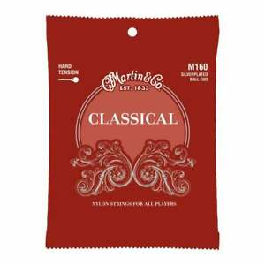 Martin M160 Classical High Tension with Ball Ends Guitar Strings M160