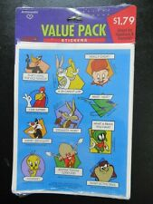 Vintage 1990s Looney Tunes Stickers Hallmark NOS Sealed
