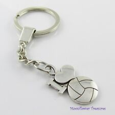 I Love Netball Keychain Keyring Coach Team End of Season Gift