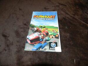 Nintendo Gamecube Mario Kart Double Dash DAMAGED Manual ONLY