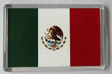 Mexico Flag Fridge Magnet- Free Postage
