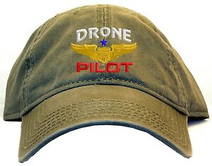 Drone Pilot Embroidered Baseball Cap - Available 7 Colors - hat