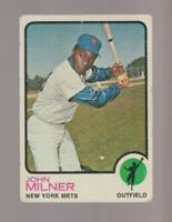 1973 Topps #4 John Milner card, New York Mets