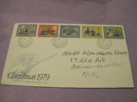 GB Royal Mail Stamps - First Day Cover / FDC - Christmas 1979