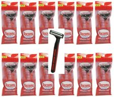 12 Packs Noxzema Twin Blade Shaver For Sensitive Skin Total 24 Disposable Razors