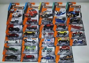 Matchbox 2015 Series 1/120 Long Cars * Pick Your Vehicle* Die Cast Sealed Cars