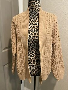 Abercrombie Fitch Womens Knit Cardigan Size Large