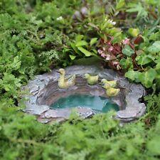 Miniature Dollhouse FAIRY GARDEN - Mallard's Pond - Accessories