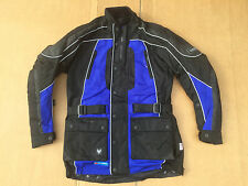 "FRANK THOMAS Mens Textile Motorbike / Motorcycle Jacket UK 38"" Chest H62"