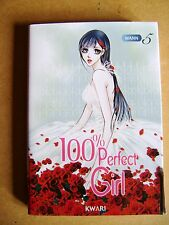 Livre Manga 100% perfect girl tome 5 /Y36