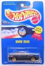Hot Wheels Blue Card Bmw 850i Collector # 255