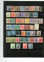49 anciens timbres ESPAGNE