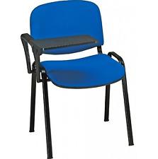 24 x Sedia con ribaltina per sale attesa conferenze BLU poltrona poltrone