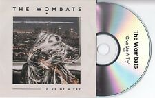 THE WOMBATS - Give Me A Try - FRENCH PROMO CD SINGLE - 2015