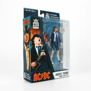 """AC/DC Angus Young BST AXN 5"""" Action Figure from Highway to hell tour!"""
