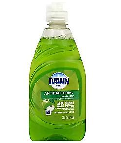 Dawn Ultra Dish Washing Liquid Soap Antibacterial Apple Blossom Scent 7 oz 3 PK