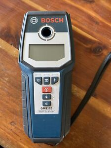 Bosch GMS120 Wall Scanner Stud Finder Preowned